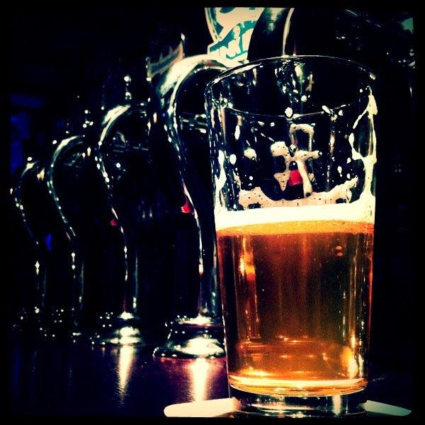 pinta birra su spine