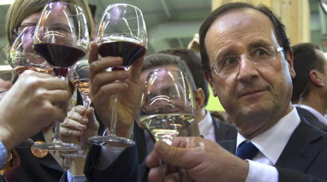 Francois Hollande vino