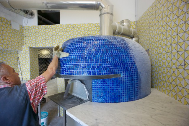 Lievito madre nuova pizzeria sorbillo Napoli forno