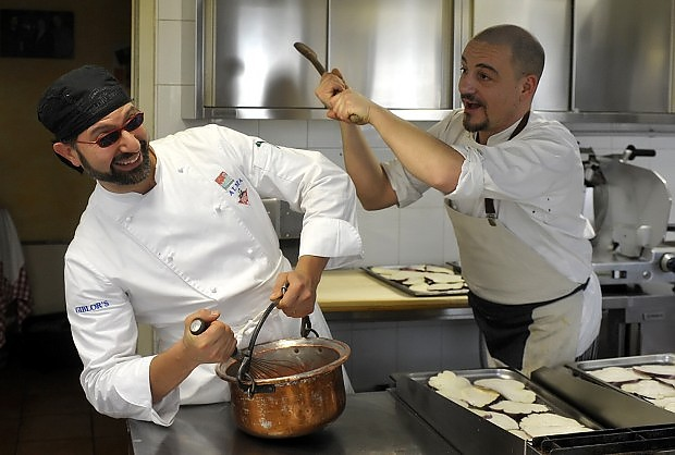 Mario Marini e Matteo Ugolotti