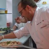 Prove di pizza per Festa a Vico 2013. Pasqualino Rossi e Stefano Callegari