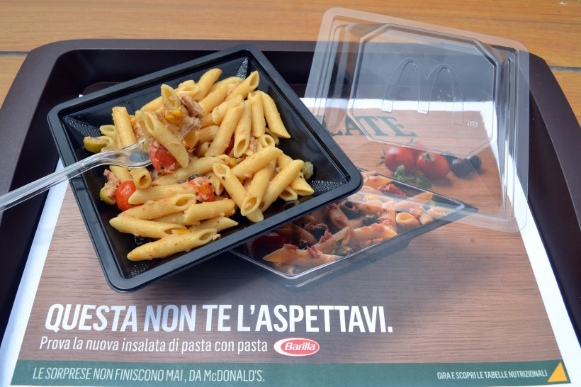 pasta Barilla Mc Donald's