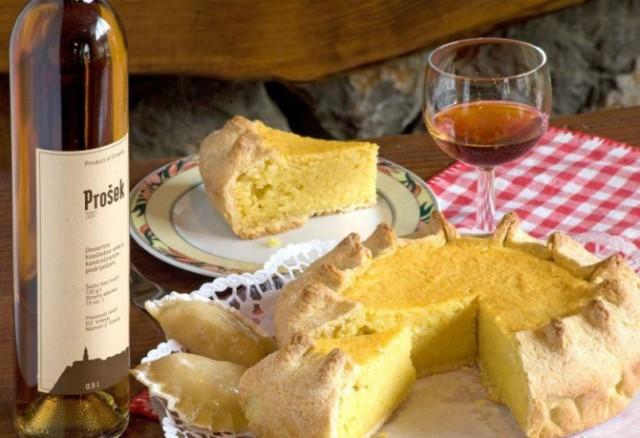 prosek vino da dessert della Croazia