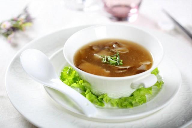zuppa di Abalone Bon Wei Milano