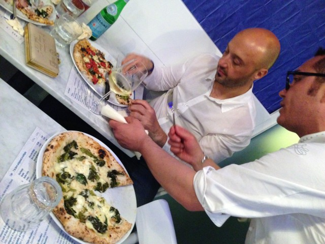 Bastianich e la pizza di Sorbillo Lievito Madre Napoli