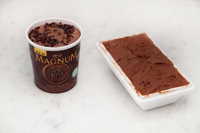 Magnum Chocolate vs Neve di Latte