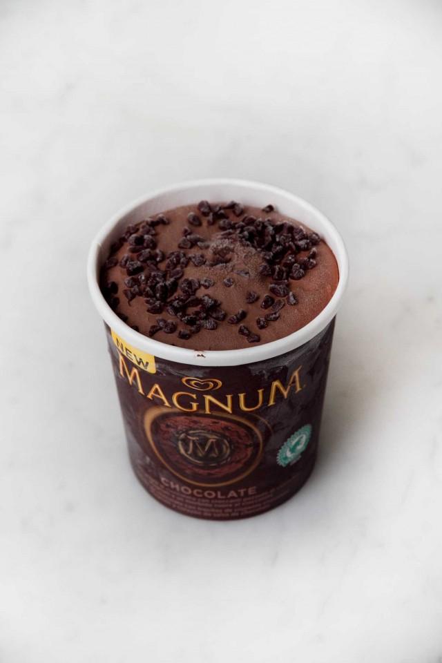 New Magnum Chocolate barattolo Algida