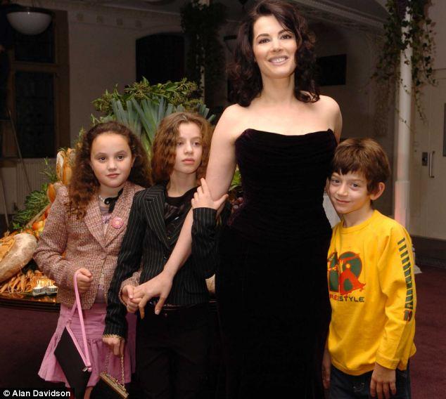 Nigella Lawson e i figli
