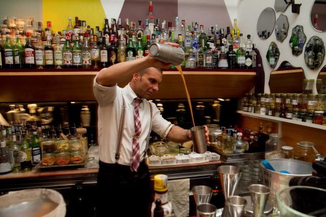 bartender Matteo Zed Zamberlan