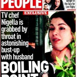 copertina Sunday People Nigella Lawson