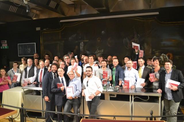 foto gruppo Gambero Rosso Roma 2014