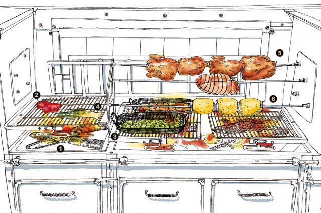 grill disegno Carlo Stanga:Morgan Gaynin