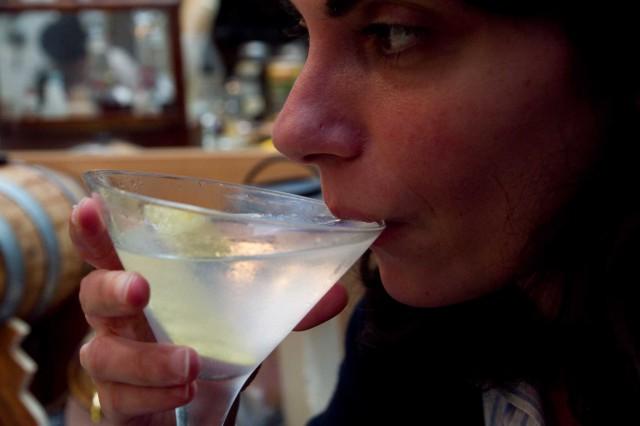 martini cocktail coppa
