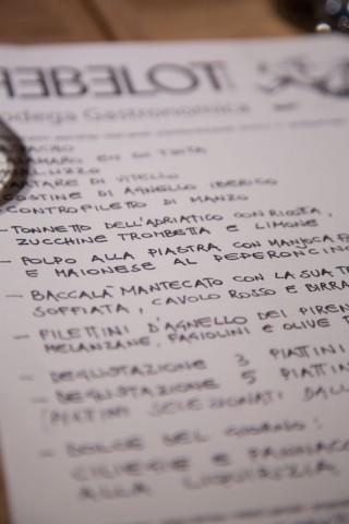 menu Rebelot Milano