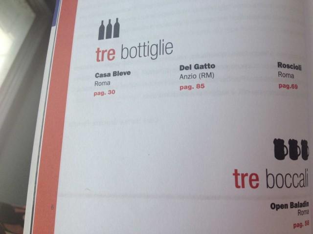 tre-bottiglie-Gambero-Rosso-Roma-2014