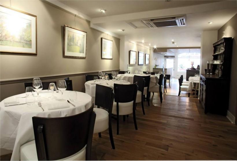 Acciuga ristorante Londra sala
