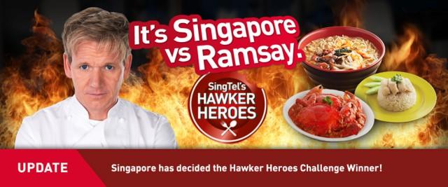 Gordon Ramsay Hawker Heroes