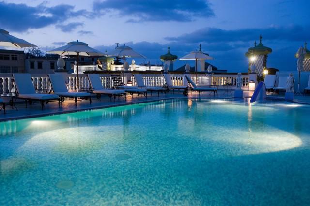 Piscina hotel Manzi Ischia