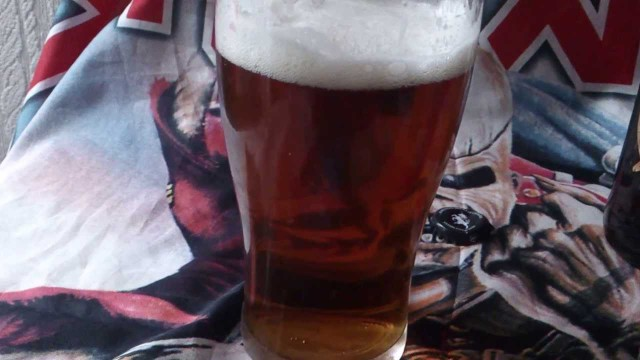 Trooper Iron Maiden birra