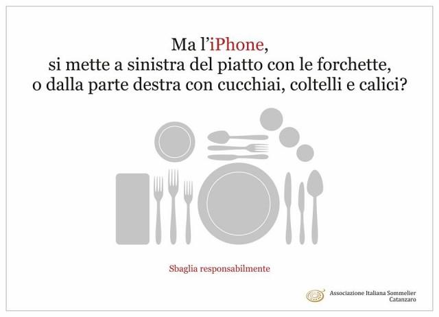 iPhone a tavola