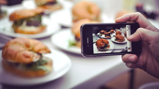 iphone per fotografare cibo
