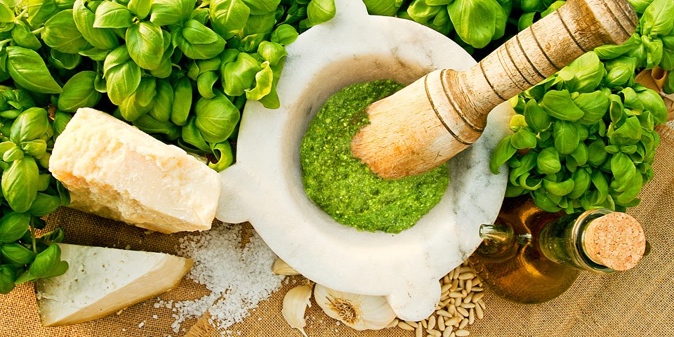 pesto mortaio