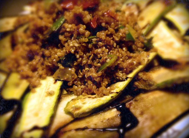 quinoa-melanzane-zucchine