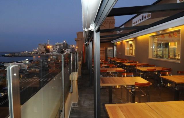 ristorante terrazza Eataly Bari