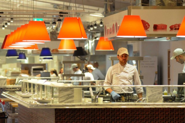 ristorantino carne Eataly Bari
