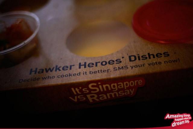 sfida cibo da strada Gordon Ramsay