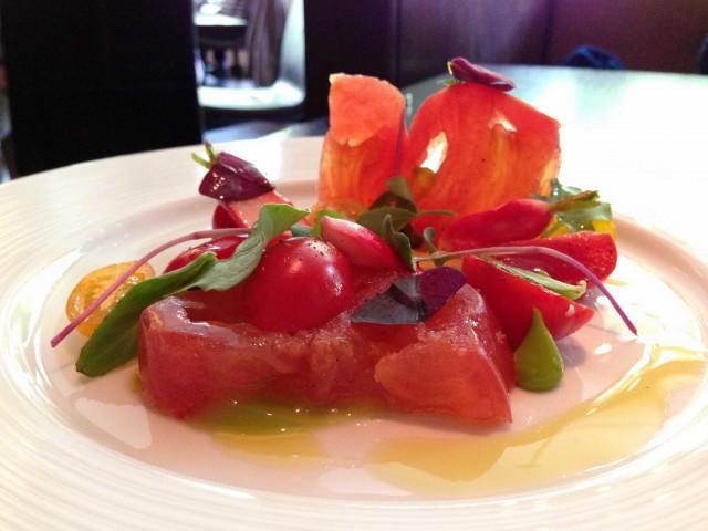 Salamagundy insalata pomodoro Dinner Londra 2