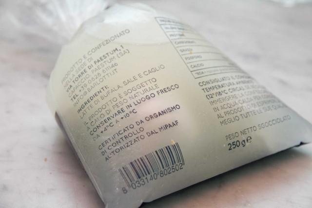 busta mozzarella barlotti