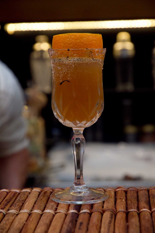 cocktail chica caliente v