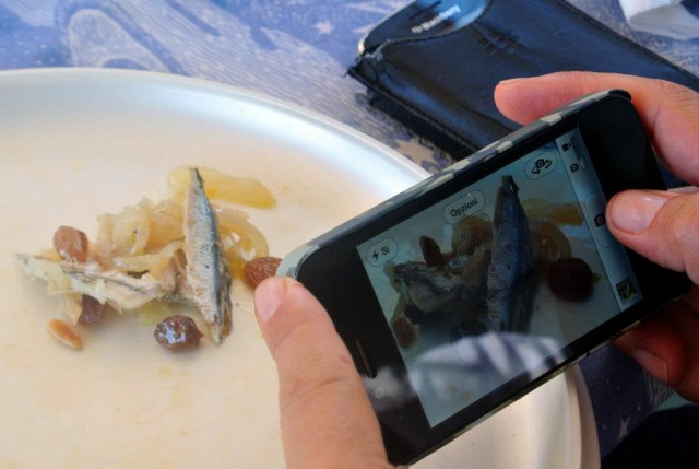 food porn in campeggio