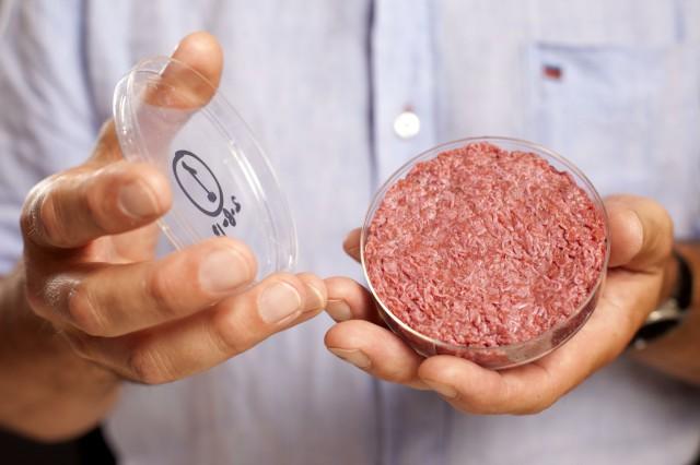hamburger di carne artificiale preparazione 02