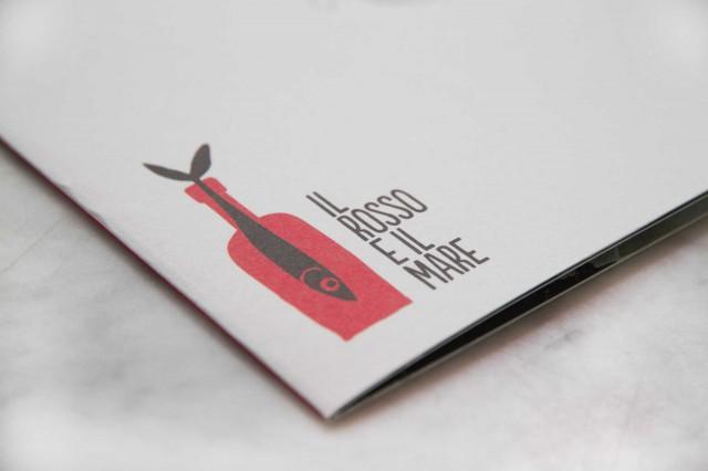 logo il rosso e il mare Acciaroli