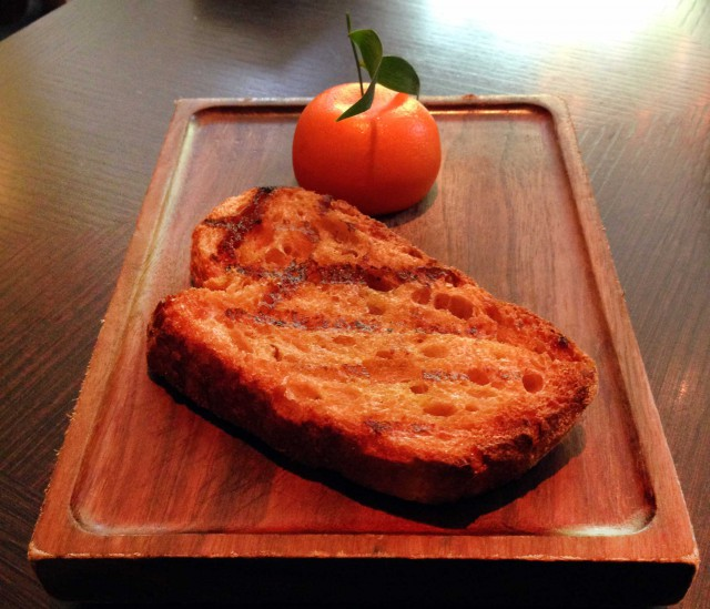 meat fruit foie Dinner Londra