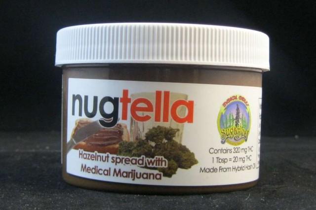 nugtella confezione marijuana