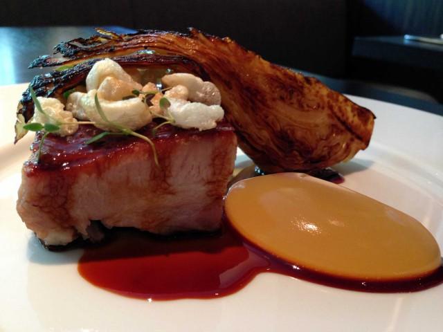 pancia di maiale Dinner Londra