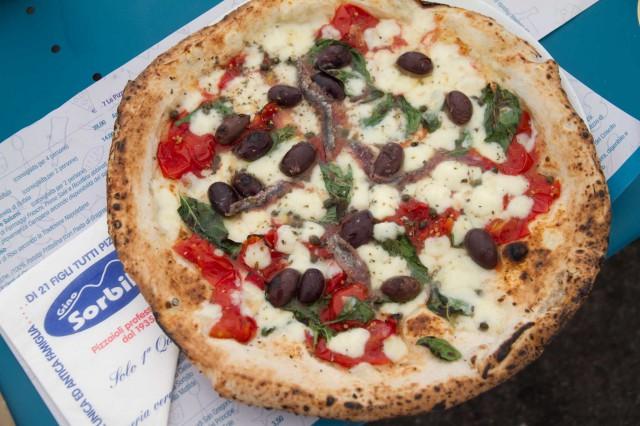 pizza Cetara Lievito Madre Napoli