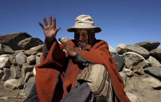 uomo più vecchio mondo bolivia