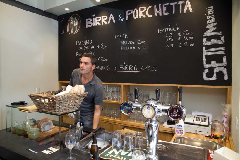 Birra e Porchetta Settembrini Roma 01
