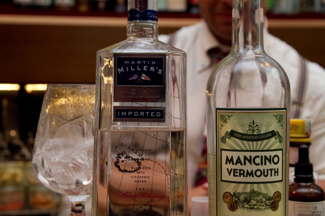 Mancino Vermouth e Martin Miller's gin