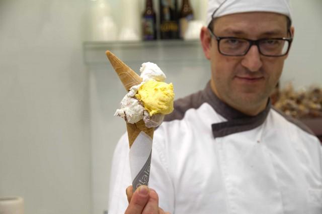 Marco Radicioni gelateria Otaleg Roma