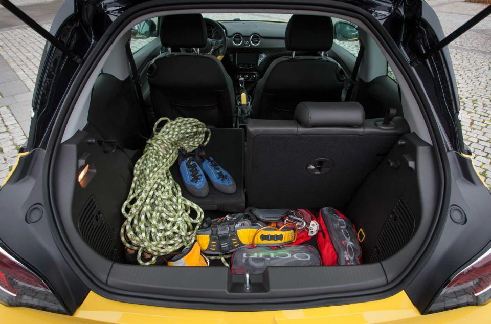 Opel Adam portabagagli
