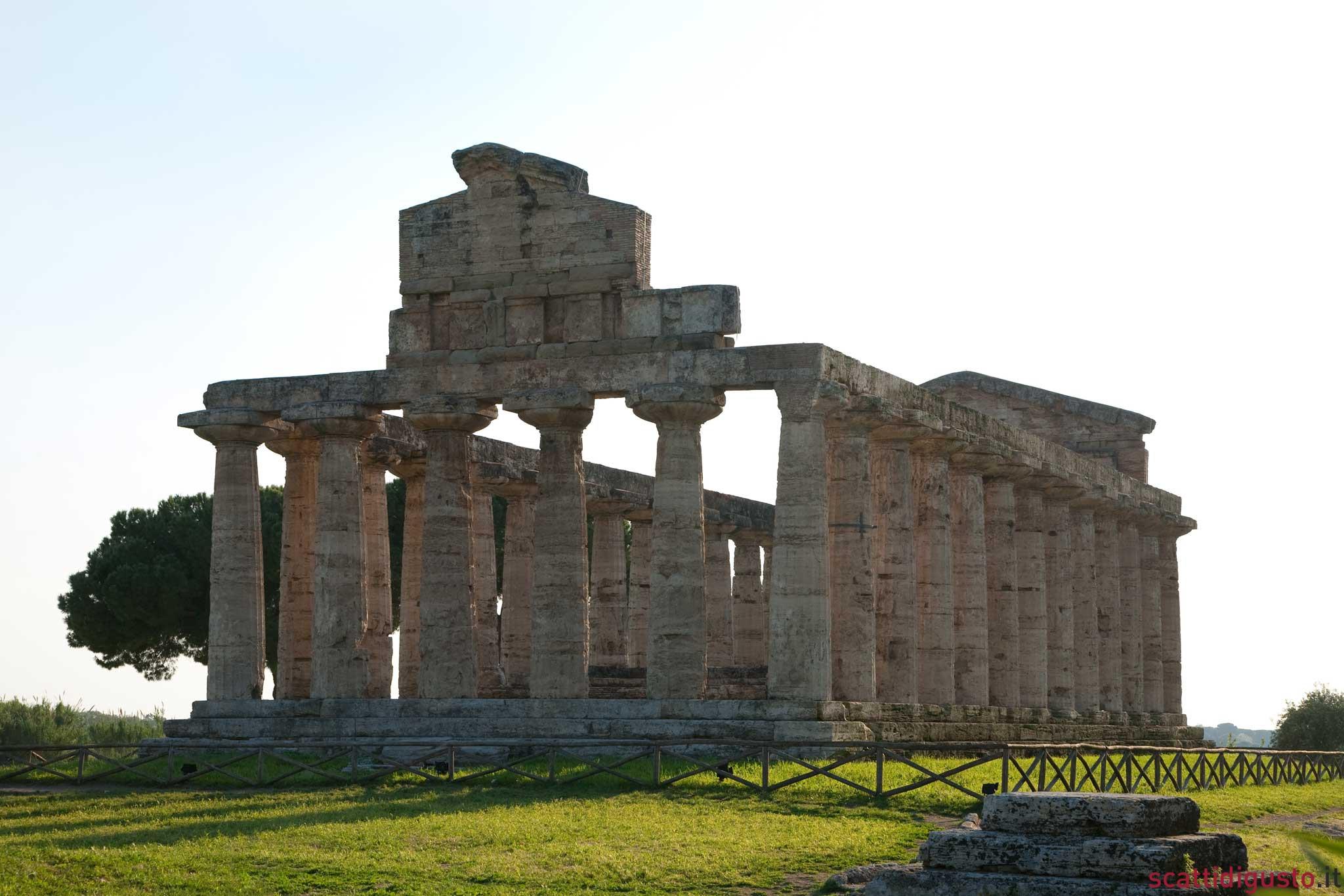 Paestum tempio Atena