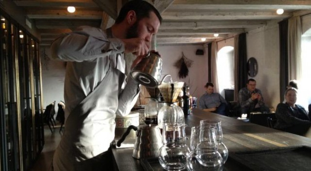 caffè al Noma preparazione 01