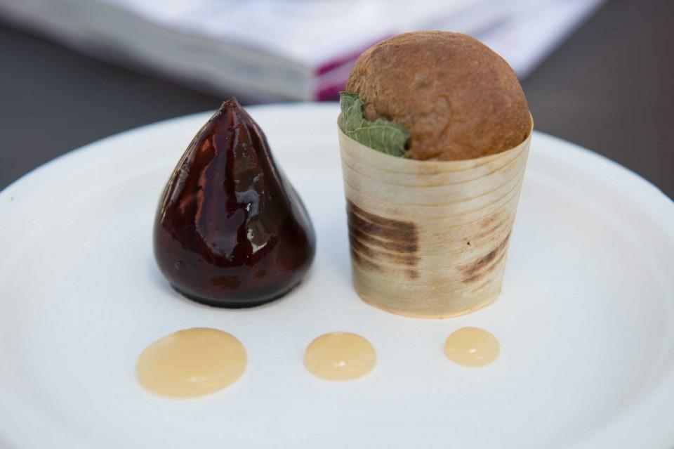 fico di foie gras di Roy Caceres