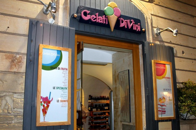 gelati di vini ingresso