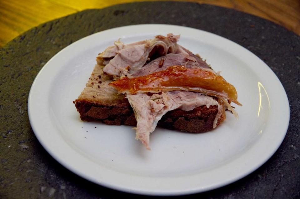 pane e porchetta